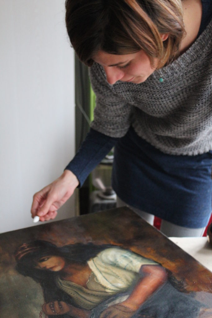 Cleaning A Painting At Home Or Why We Should Not Clean Our Oil Paintings According To Instructions From Acquaintances Or The Internet Brushstroke